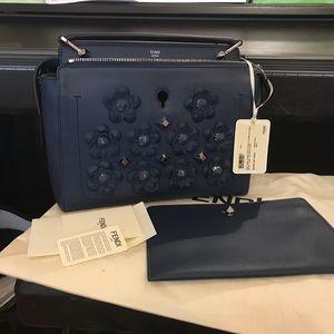 Auth Brand New Fendi Dotcom Bag